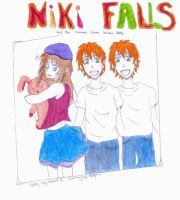 the cover of niki falls by AngelDust203