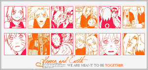 NaruSaku color bar by Dafne0292