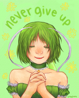 Never Give Up by creylune