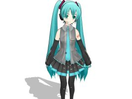 MMD LoveDeath Miku DOWNLOAD by JJ-MMD