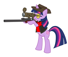 Twilight Sniper [Commission] by kuliise