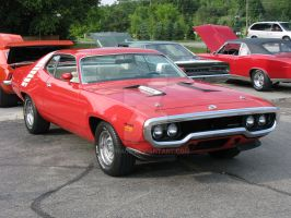 1972 Plymouth Road Runner 440 by Qphacs
