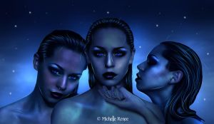 The Three Sisters by michelle--renee