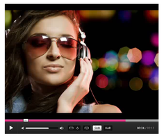 Nice Videoplayer UI .PSD by YesIMaDesigner