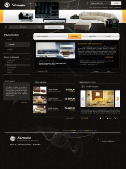 website layout 78 by tehacesequence