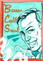 Breaking Bad Sketch Card Set: Saul Goodman by stikkmann