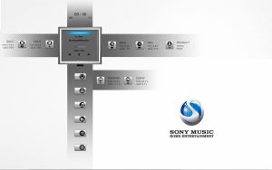 :: SONY MUSIC :: by DarkEagle2011