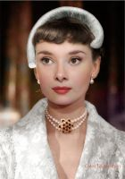 Audrey Hepburn in Roman Holiday (1953) by klimbims