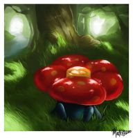 Vileplume by NeverEndingMatti