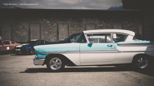 1958 Chevrolet Bel Air by AmericanMuscle