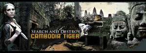 Tiger of Cambodia - Aztec by schledde