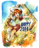 Happy 2014 by tama-lynn