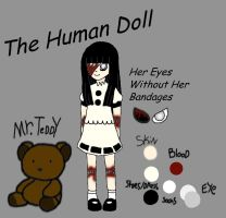 Creepypasta OC: The Human Doll Bio by SexyLittleDiva
