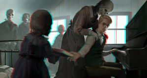 Those Who Play For Ghosts 3-D conversion by MVRamsey