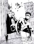 NightWing And Batgirl Finished by Ari-Spike-Nadelman