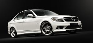 Mercedes C-class_Side by Sesim