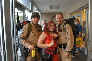 Harley and the Ghostbusters by LolitaLibrarian