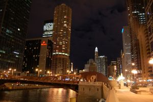 Chicago Downtown by airblue