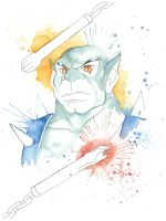 Panthro Watercolor by JAWart728