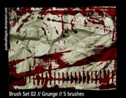 Brush Set 02 - Grunge by punksafetypin