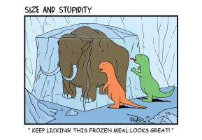 Frozen Meal by Size-And-Stupidity