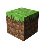 Minecraft Grass Block HD by Benderxable