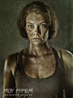 The Walking Dead: Maggie: HDR Re-Edit by nerdboy69