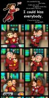 I Could Kiss Everybody by cuddlesaurus21