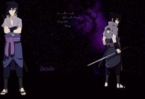 Sasuke wallpaper 4 - Realm for Hate by LightsChips