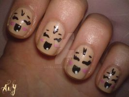 Baby Nail Design by AnyRainbow