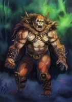 MotU Concept- Beastman by NathanRosario