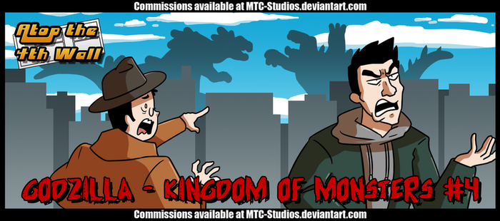 AT4W: Godzilla- Kingdom of Monsters #4 by DrCrafty