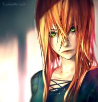 Fisheye Placebo: Robin Paintover Test by yuumei