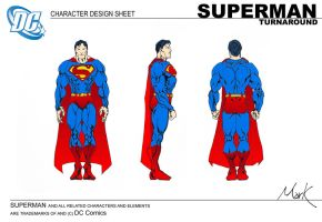 Superman Turnaround by markhossain