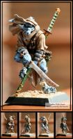 Wolfen Prowler -Miniature- by CrescentMoon