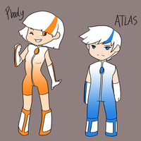 P2 - PBody and ATLAS by La-Mishi-Mish