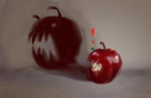 Evil Apple by Ali-Shobbar
