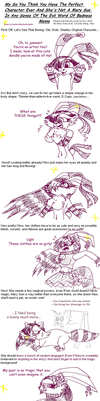 Mary-Sue-ification Meme: Peck by koshechkazlatovlaska
