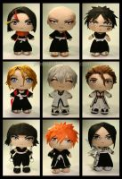 Bleach Chibis (2nd edition) by pheleon