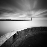 Curve and the Lighthouse by KrzysztofJedrzejak