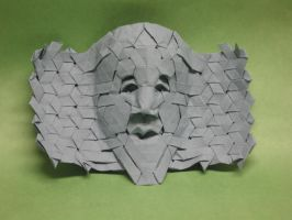 Tessellation mask no 4 by Blue-Paper