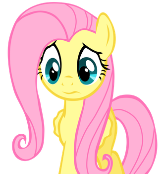 Sad Fluttershy by ECHOES111