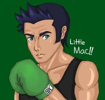 The Punch is mightier than the Sword!! by little-mac-n-cheese