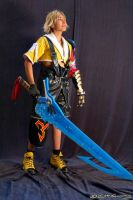 B-Shira cosplay Tidus FFX by Neko-kenky