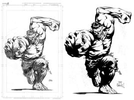 Hulk by David Finch by ernestj23