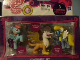 MLP Action Pack 3 characters by spidyphan2