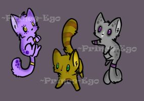 Kittens adoptables [CLOSED] ON SALE!! by Prince-Ego