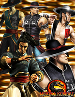Mortal Kombat - Kung Lao by DENDEROTTO