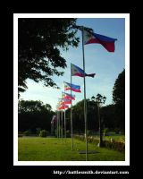 park flags by battlesmith