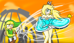 Rosalina: Windy Weather v4 by Xero-J